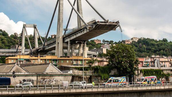 Ponte Morandi - Sputnik Italia