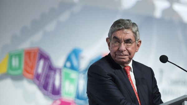 Oscar Arias - Sputnik Italia