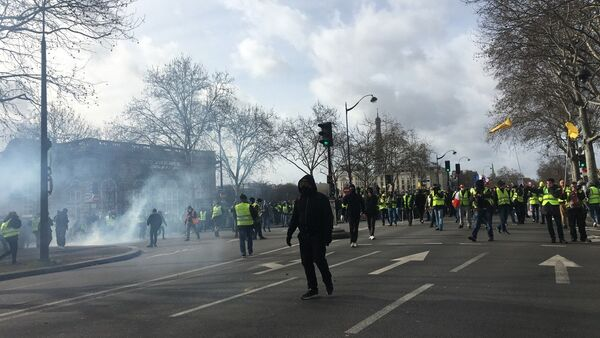 L'acte 13 des Gilets jaunes à Paris - Sputnik Italia