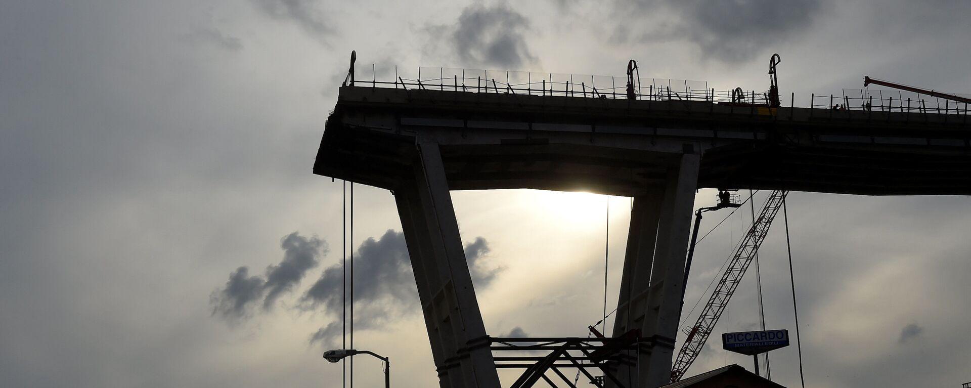 La ricostruzione del ponte Morandi - Sputnik Italia, 1920, 09.02.2019