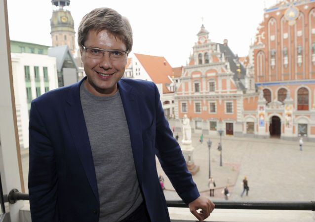 Sindaco di Riga Nil Ushakov (foto d'archivio)