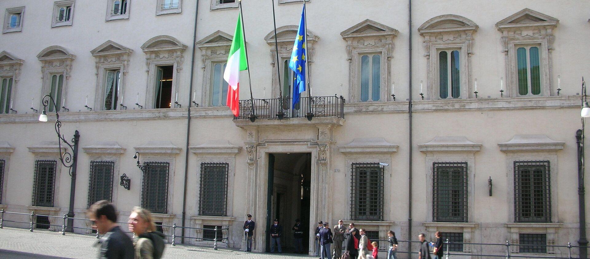 Il Palazzo Chigi - Sputnik Italia, 1920, 22.04.2021