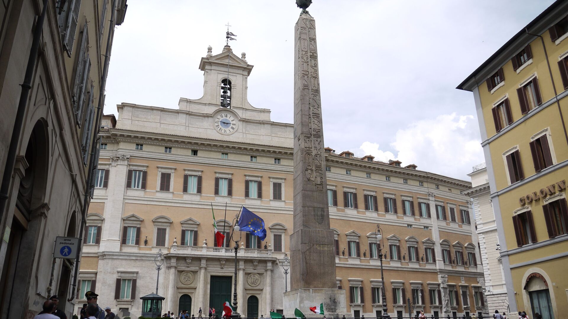 Il Palazzo Montecitorio - Sputnik Italia, 1920, 07.09.2021