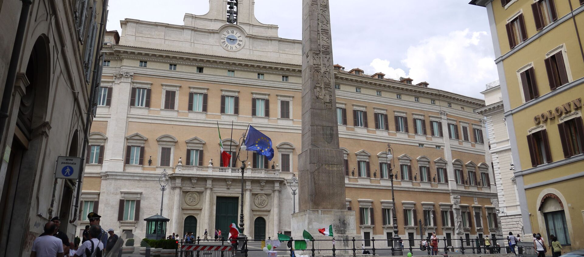 Il Palazzo Montecitorio - Sputnik Italia, 1920, 09.08.2020
