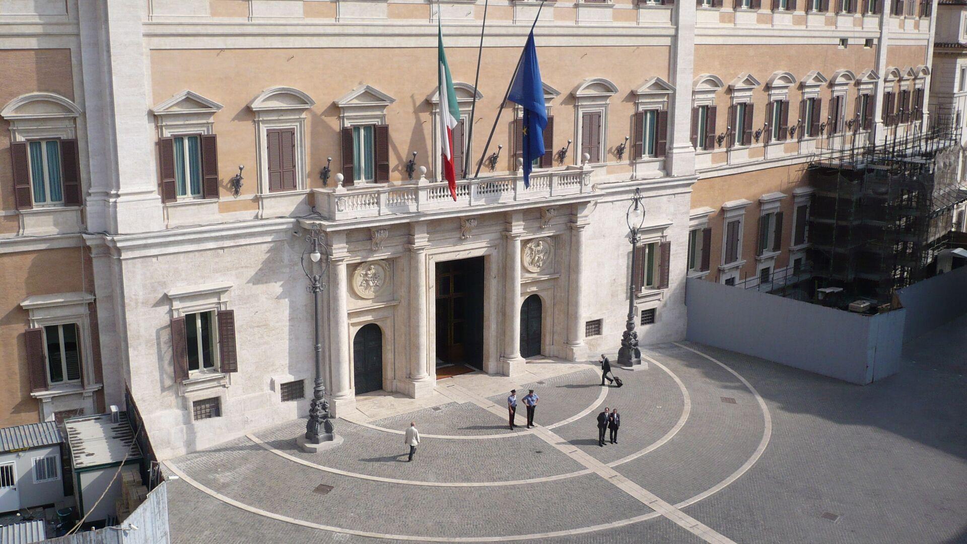 Palazzo Montecitorio. - Sputnik Italia, 1920, 04.08.2021