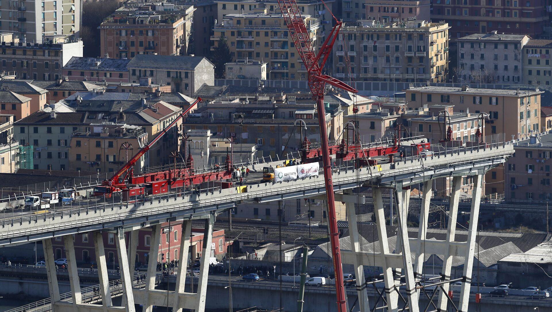 La ricostruzione del ponte Morandi - Sputnik Italia, 1920, 19.04.2021