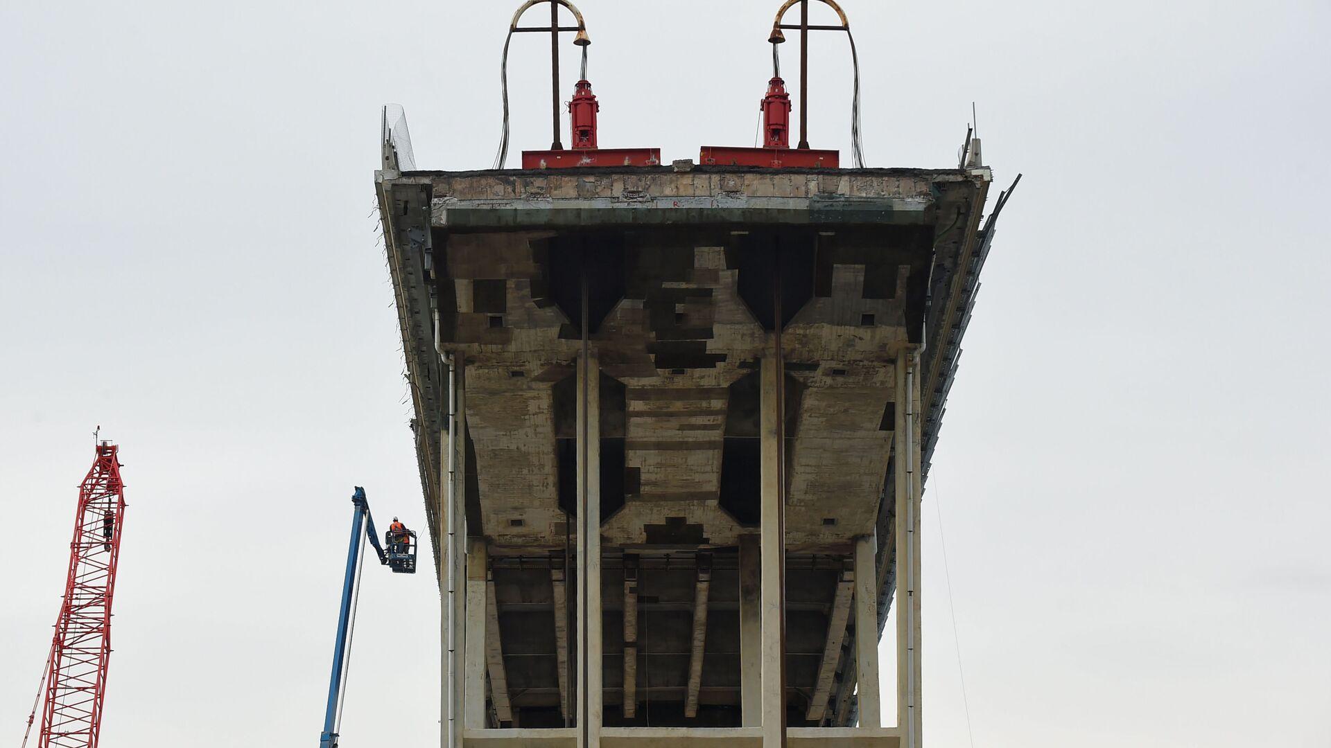 La ricostruzione del ponte Morandi - Sputnik Italia, 1920, 25.06.2021