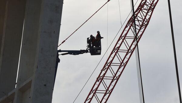 La ricostruzione del ponte Morandi - Sputnik Italia