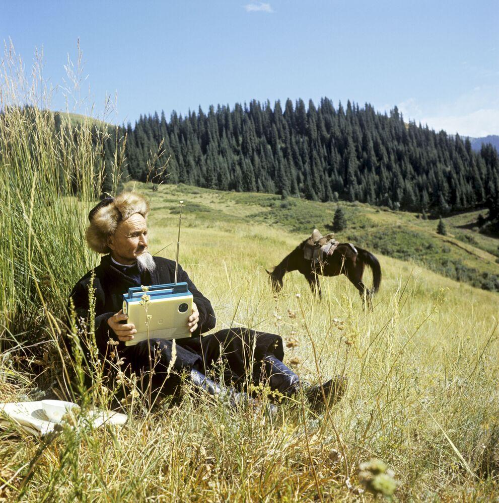 Sulle montagne di Zailiiskiy Alatau (Kazakistan)