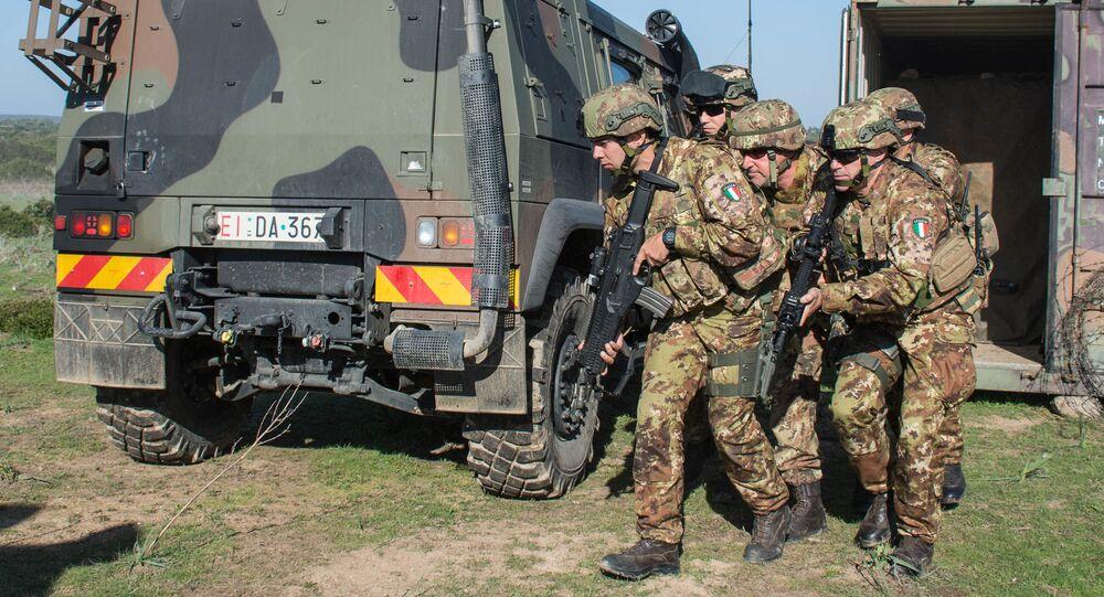 Manovre dell'Esercito italiano