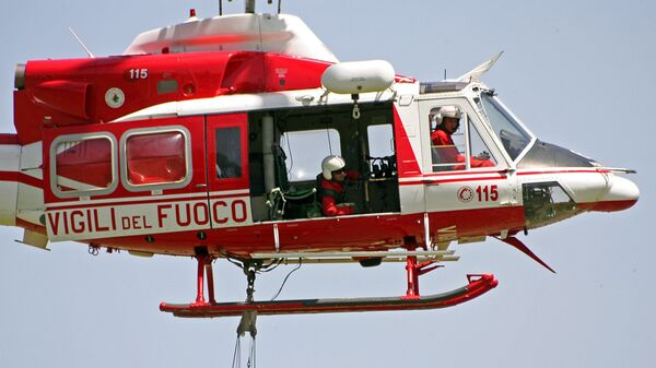 Elicottero dei Vigili del Fuoco - Sputnik Italia