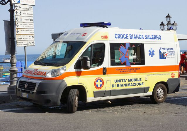 Ambulanza italiana