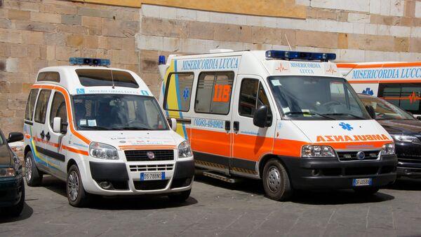 Ambulanze italiane - Sputnik Italia