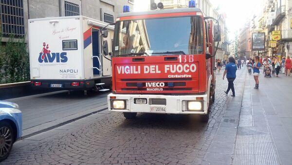 Autopompa dei Vigili del Fuoco - Sputnik Italia