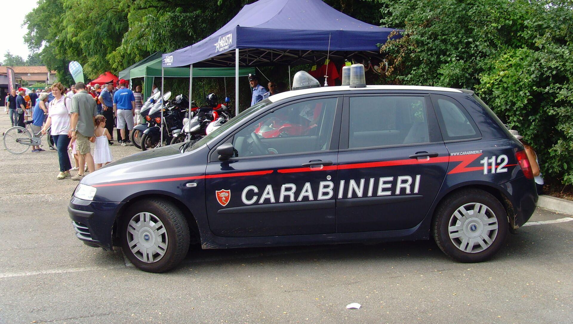 Autoveicolo dei Carabinieri - Sputnik Italia, 1920, 01.04.2021