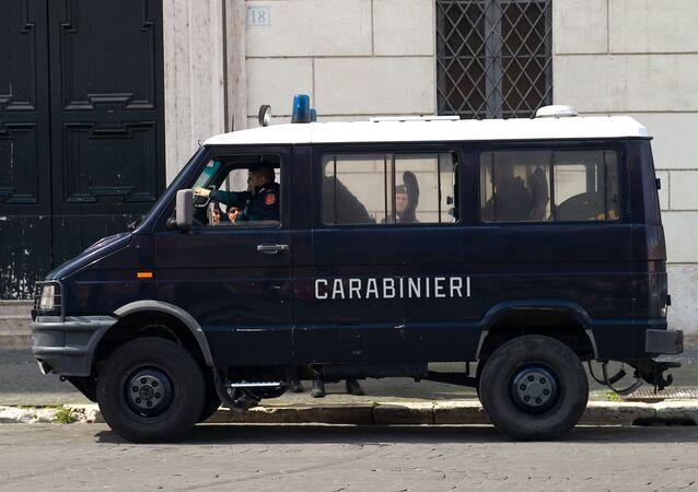 Autoveicolo dei Carabinieri