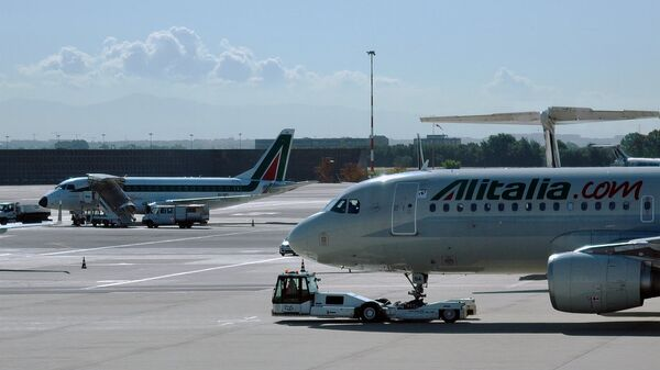 An Alitalia Airbus - Sputnik Italia