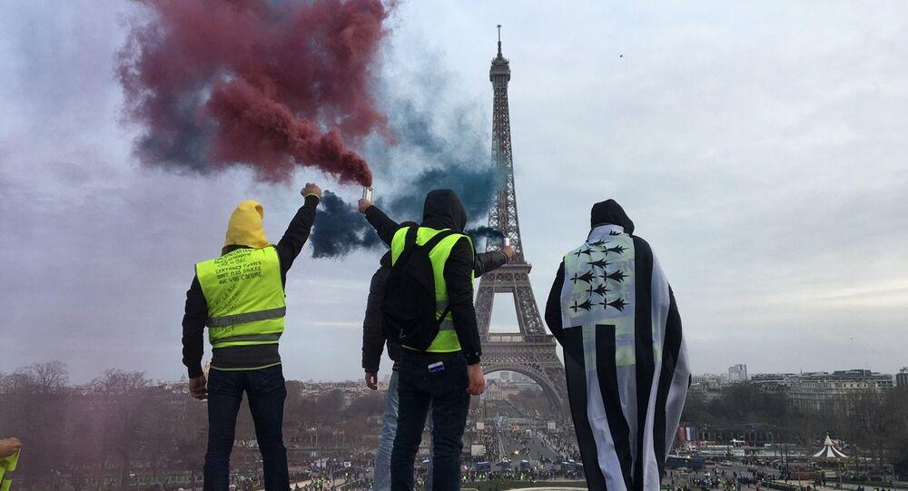 I Gilet Gialli a Parigi