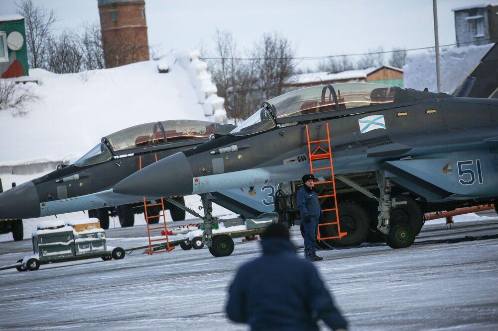 Base di Severomorsk-3 nella Penisola di Kola