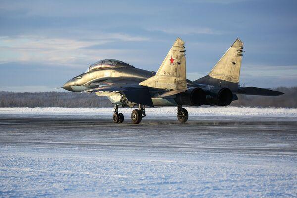 МиГ-29К pronto per il decollo - Sputnik Italia
