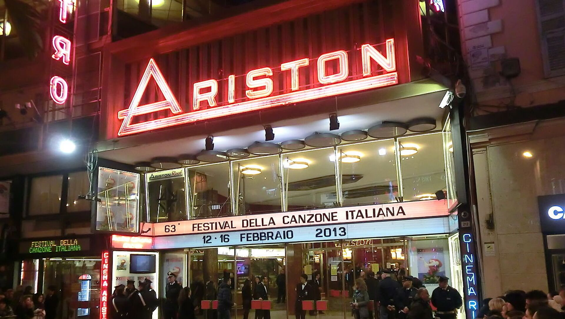 Teatro Ariston - Sanremo - Sputnik Italia, 1920, 05.02.2021