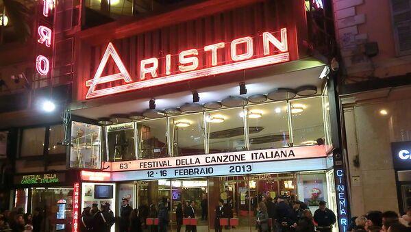 Teatro Ariston - Sanremo - Sputnik Italia