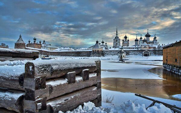 Solovky - isolamento invernale - Sputnik Italia