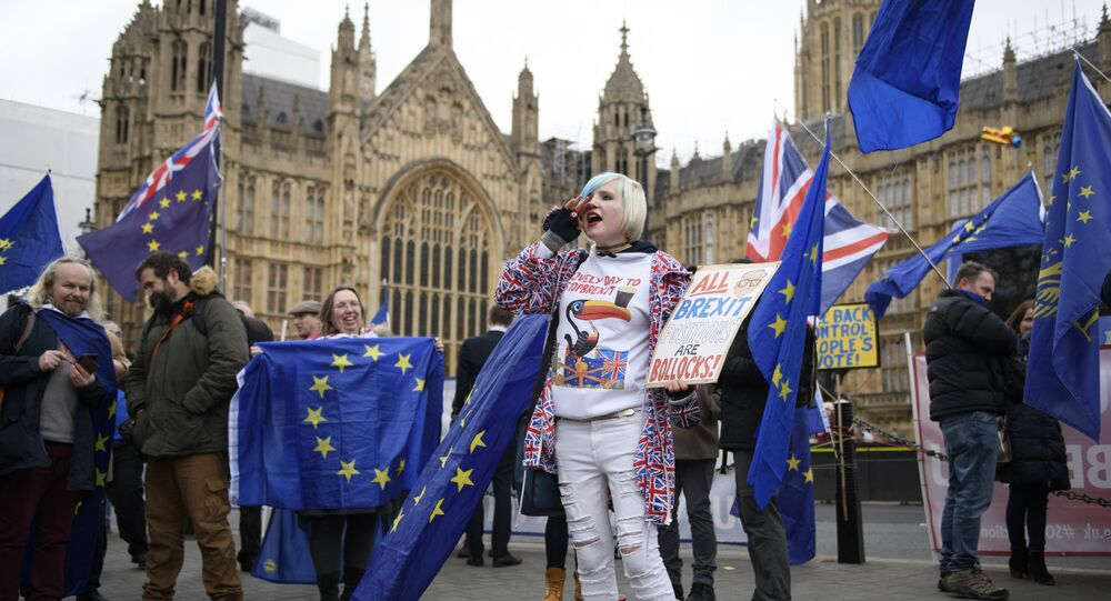 Anti-Brexit-Demo in London (Archivbild)