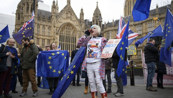 Anti-Brexit-Demo in London (Archivbild) - Sputnik Italia