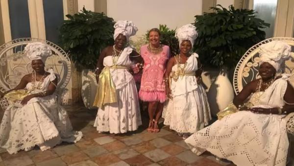 Giornalista brasiliana organizza festa a tema con degli schiavi - Sputnik Italia