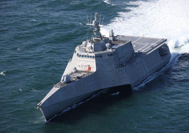 La nave costiera USS Tulsa (LCS-16)