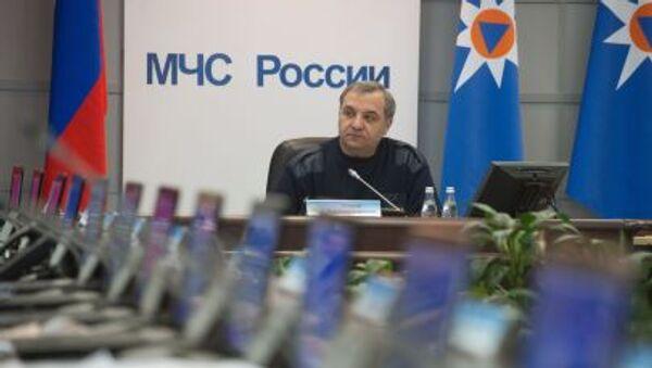 Ministro della Protezione Civile della Russia Vladimir Puchkov - Sputnik Italia