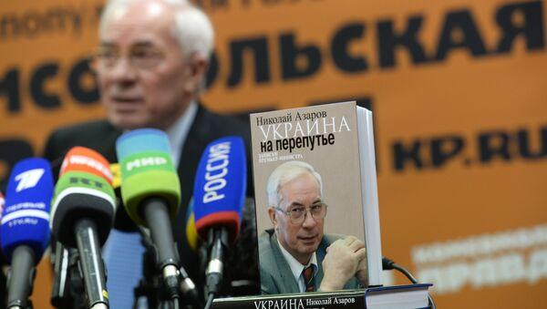 Ex premier ucraino Mykola Azarov - Sputnik Italia