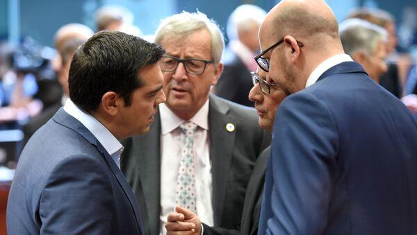 Alexis Tsipras alla riunione Eurorguppo - Sputnik Italia
