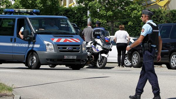 Agenti della gendarmeria francese - Sputnik Italia