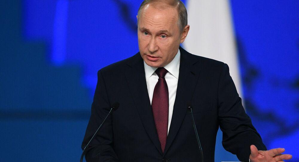 Il discorso del presidente Putin di fronte all'Assemblea Federale
