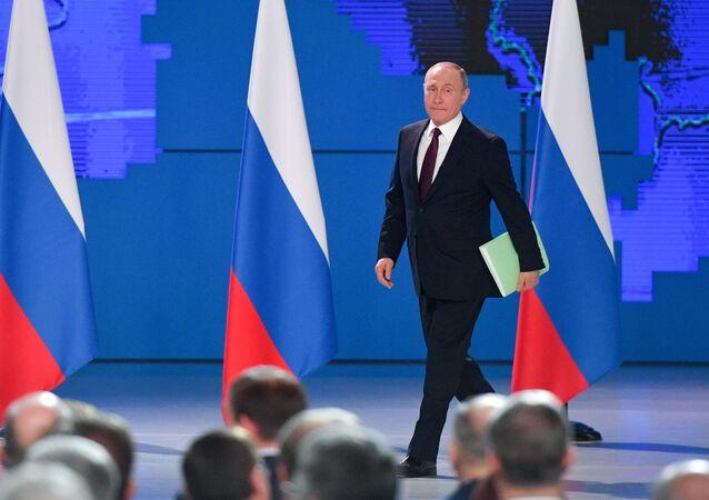 Il discorso del presidente Putin di fronte all'Assemblea Federale 2019