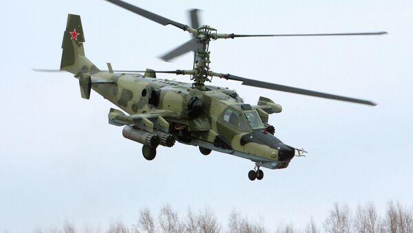 The Kamov Ka-50 attack helicopter, nicknamed the 'Black Shark' (Chernaya Akula), as it often features a matte black paint job. - Sputnik Italia
