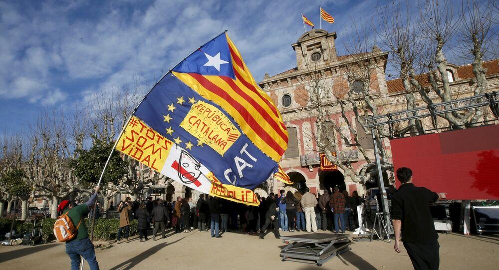 Indipendentisti catalani (foto d'archivio)