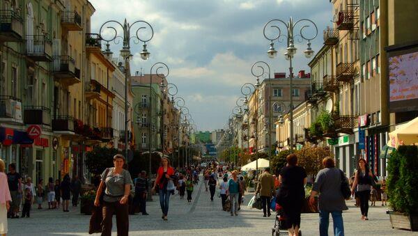 Ulica Sienkiewicza w Kielcach - Sputnik Italia