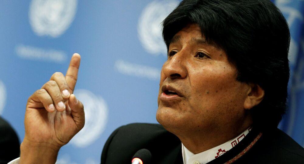 Evo Morales (foto d'archivio)
