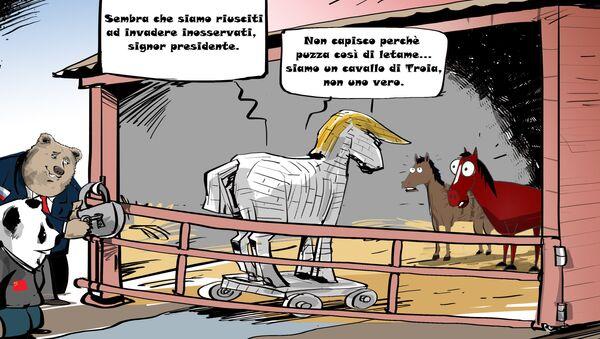 Cavallo di Troia - Sputnik Italia