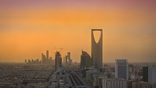 Riyadh Skyline showing the King Abdullah Financial District (KAFD) and the famous Kingdom Tower - Sputnik Italia