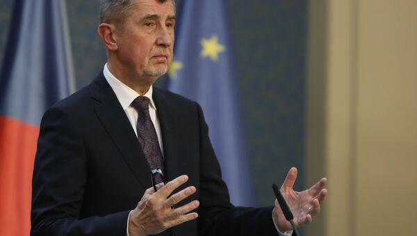 Il primo ministro ceco Andrej Babis - Sputnik Italia