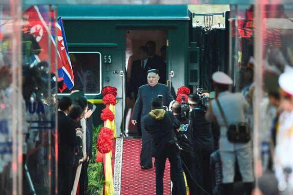 Kim in Vietnam - Sputnik Italia