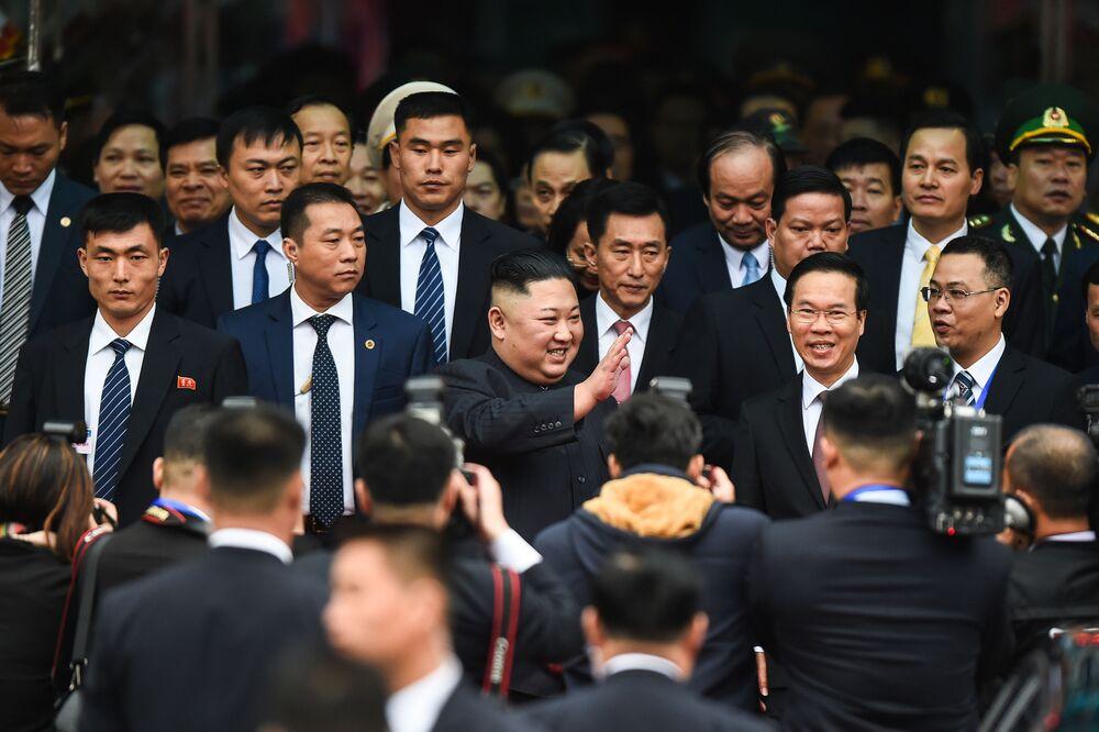 Kim in Vietnam