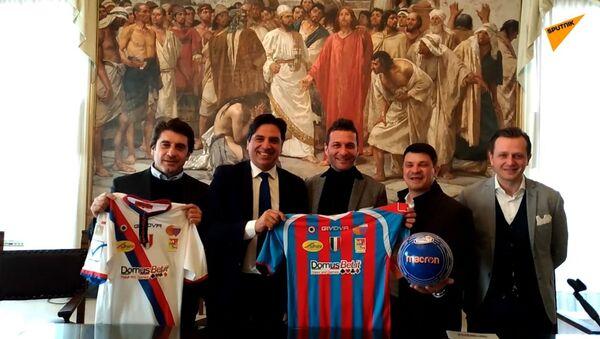 Inizia a Mosca oggi, il 27 febbraio, il torneo di beach soccer Mundialito de Clubes - Sputnik Italia