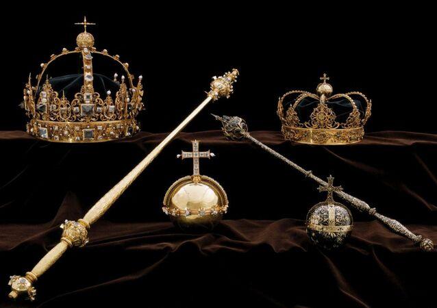 I gioielli della Famiglia Reale della Svezia del Settecento (foto d'archivio)
