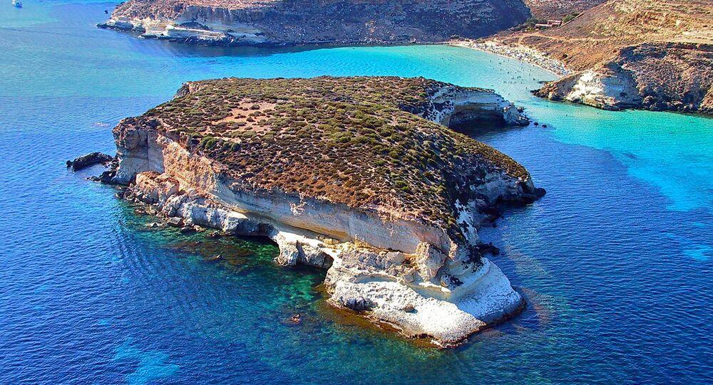 L' isolotto dei Conigli a Lampedusa