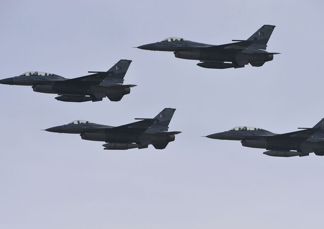 Pakistani F-16 fighter jets (File)